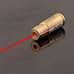 lt-9mm kalibrering rød laser pointer (1 MW, 650nm, 4xag13, khaki)