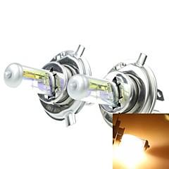 h4 P43t 100 / 90w vernickelt gelb für Autoscheinwerfer Scheinwerfer Nebelscheinwerfer 12V (2ST)