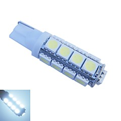 T10 17x5050SMD 3.5W 160-180LM 6500-7000K Cool White Light LED Bulb for Car DC12V 2PCS