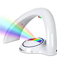 kreative LED Weihnachtsbeleuchtung Licht in wechselnden Farben süß Acryl romantische Regenbogen Paar Nachtlicht Hauptdekoration