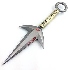 Waffen / Schwert Inspiriert von Naruto Cosplay Anime Cosplay Accessoires Waffen Silber Legierung Mann