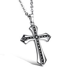 Men's Titanium Steel Cross Necklace