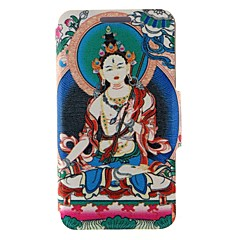 Kinston Religious Pattern Two Pattern PU Leather Full Body Case with Stand for Samsung Galaxy S3 I9300