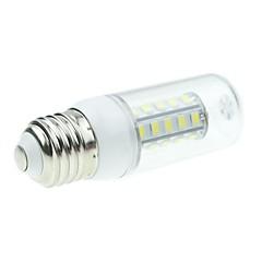 7W E26/E27 LED Corn Lights T 36 SMD 5730 800-1200LM lm Natural White DC 12 V