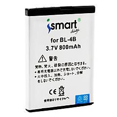 iSmart batterie de 800mAh pour Nokia 7070 Prism, 7370, 7373, 7500 Prism, n76