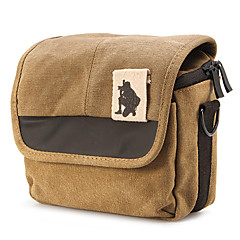 Canvas Camera Bag for Mirrorless Camera