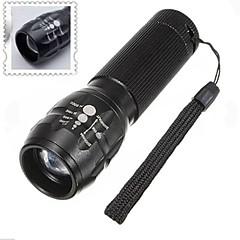 LED taskulamput / Käsivalaisimet LED 3 Tila 500 Lumenia Säädettävä fokus / Vedenkestävä / Lipsumaton kädensija AAA