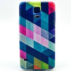 Diamond Pattern TPU Soft Cover for Samsung Galaxy S5 MINI