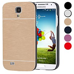 DF® Luxury High Quality Solid Color Brushed Aluminium Hard Case  for Samsung S4 I9500 (Assorted Color)