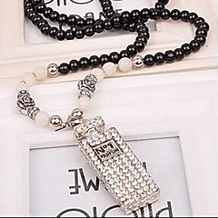 Black Statement Necklaces / Strands Necklaces Alloy / Acrylic Party / Daily / Casual Jewelry