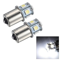 Merdia 1.5W 45LM 1156 8x5050SMD LED White Light Brake Light / Reversing Lamp/Turn Signal Light(2 PCS/24V)