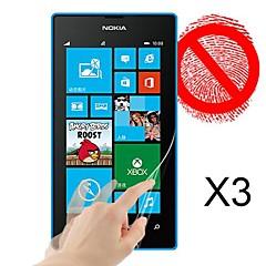 Protector de pantalla mate para Nokia Lumia 520 (3 piezas)