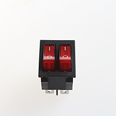 duplán hat láb rocker switch (2db)