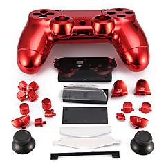 caso controlador de substituição para o controlador PS4 caso PS4 chapeamento