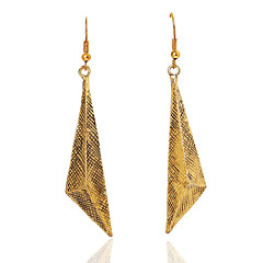 Earring Drop Earrings Jewelry Women Gold 2pcs Gold