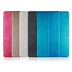ENKAY Three-folding Protective Smart Case Soft Back Cover with Stand for iPad Air (Assorted Colors)