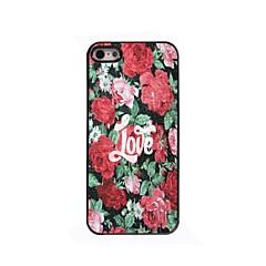 Rose Love Design Aluminium Hard Case for iPhone 4/4S