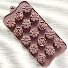 15 gaura de trandafir mucegai formă de tort