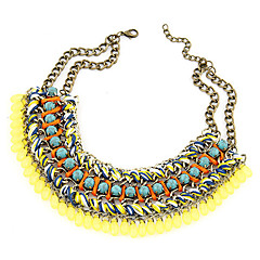 2014 Vintage Bohemian Style Multicolor Statement Necklace For Women