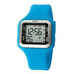 vilam® tondo quadrante orologio al quarzo digitale pu banda cittadina dello sport 12028fashion uomo (colori assortiti)