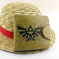 Çanta Esinlenen The Legend of Zelda Cosplay Anime / Video Oyunları Cosplay Aksesuarları Çanta Sarı Rugan Deri / PU Deri Erkek