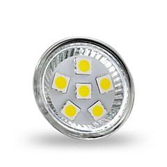 4W GU4(MR11) LED Spotlight MR11 6 SMD 5050 350 lm Cool White Decorative DC 12 V