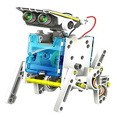 NEJE DIY 14 In 1 Solar Powered Robot Pattern Building Block Assembling
