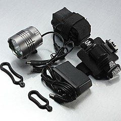 LT-00067   3Mode   4 x Cree XM-L U2 LED Bicycle Bike Headlight Torch Headlamp(5500LM. 1X6400.Gray)