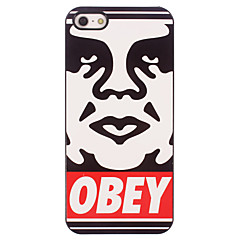 OBEY Pattern Aluminum Hard Case for iPhone 4/4S