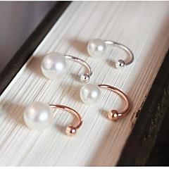 South Korea's Pearl Ear Bones U Clip Without Ear Pierced Earrings (1 pcs)