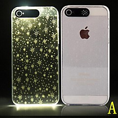 Mert iPhone 6 tok iPhone 6 Plus tok tokok LED Minta Hátlap Case Mértani formák Puha PC mertiPhone 6s Plus iPhone 6 Plus iPhone 6s iPhone