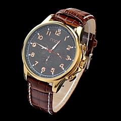 multi-funzionale, cassa in oro orologio impermeabile pu polso banda auto-meccanico degli uomini di MCE