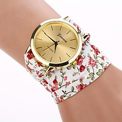 Women's Big Round Dial Shivering Cotton Tape  Quartz Watches  (Assorted Color)C&d183 Cool Watches Unique Watches