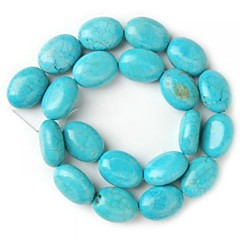 Oval Turquoise Beads Loose Beads (1 Pc)