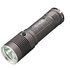 LED Flashlights / Handheld Flashlights LED 5 Mode 1100 Lumens Waterproof Cree XM-L2 T6 26650 Camping/Hiking/Caving - SupFire , Brown