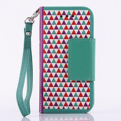 Multi-fonction Triangle Building Block PU Leather Full Body Case for SAMSUNG GALAXY S4 Mini I9190(Assorted Colors)