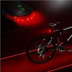bisiklet ışık, ls083 bisiklet 5 led lazer ışık, lazer ışını bisiklet arka kuyruk lambası, emniyet