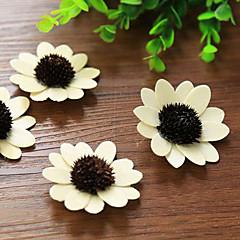 Qihang artificielles blanches placage soleil fleurs accessoires de photographie (1 pcs)