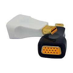 Nowy port mini adapter kabla wyświetlacz VGA rgb dla MacBook Air / ultrabook Dell XPS / / powierzchni pro 2/3 (Wybór koloru)
