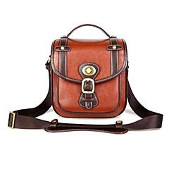 KRO 2-Reddish Brown Camera Bag for Canon 5D2 5D3 60D 7D Nikon D90 D7000 Sony PENTAX [S Size]