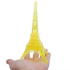 barnas pedagogiske leker Eiffeltårnet diy 3d tredimensjonale krystall puslespill