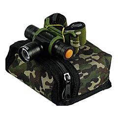 Lampes frontales (Faisceau Ajustable / Etanche / Rechargeable) LED 3 Mode Lumens Cree XR-E Q5 14500 -Camping/Randonnée/Spéléologie /