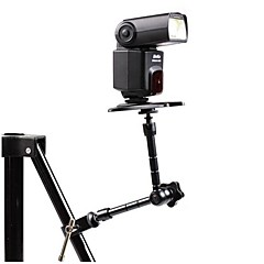 "11"" Articulating Magic Arm w/ 1/4"" Screw and Aluminum Alloy Mount Clamp for Camera"