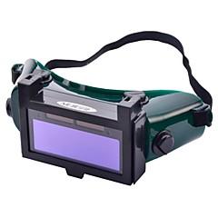 NEJE ABS + Rubber Solar Auto Darkening LCD Welding Helmet- Green