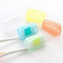 5 PCS Family Candy-colored Bacteria Travel Toothbrush(Random Color)