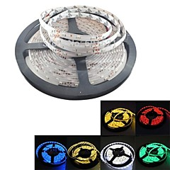 6 Optional Colors LED Flexible Decoration Waterproof Strip 5M 300x3528 SMD DC 12V Yellow/Warm White/Bule/Green/Red/White