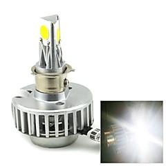 merdia 18w 1800lm 6500K 3 COB светодиодный белый свет мотоцикл пятна фары / высокая производительность лампы (1шт / 6-36v)
