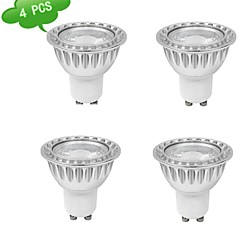 9W GU10 LED Spotlight MR16 1 COB 810 lm Warm White AC 85-265 V