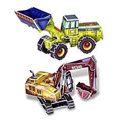 3D DIY 창조적 인 가게 트럭 빌드는 아이 아이들을위한 교육 키트 퍼즐 장난감 퍼즐 게임을 수집