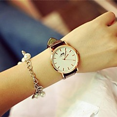 Women's Circular Vintage Quartz Fashion Watch